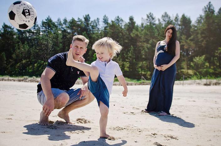 sesja rodzinna nad morzem, sesja dziecięca gdańsk, mrugała studio