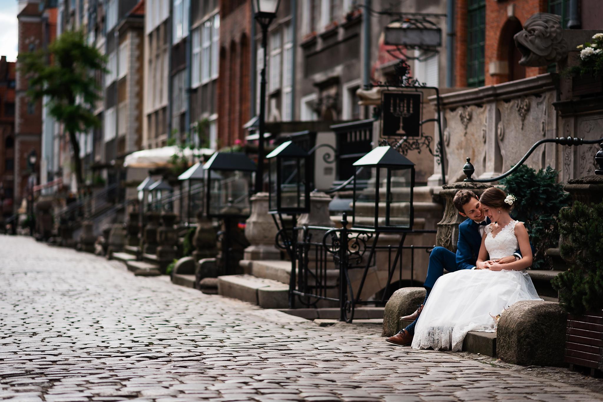 mrugała studio, plener w Gdańsku, sesja ślubna trójmiasto