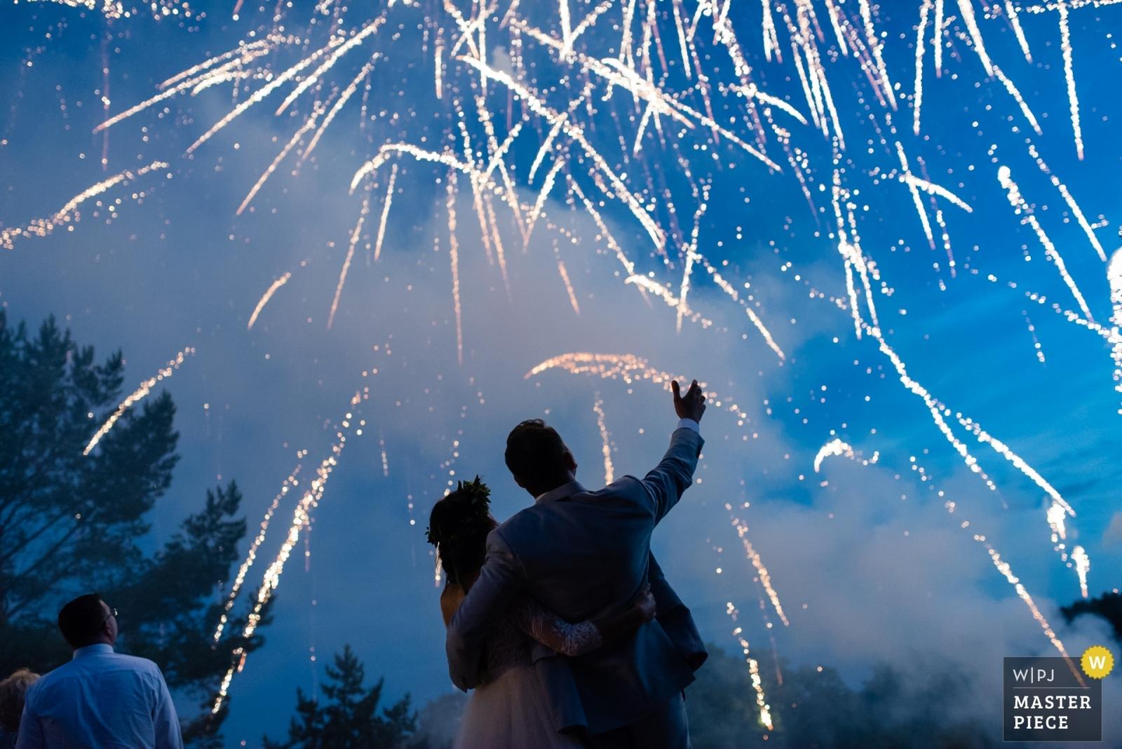 mrugała studio, ślub na kaszubach, weselne fajerwerki, nagrodzone zdjęcie ślubne, WPJA member
