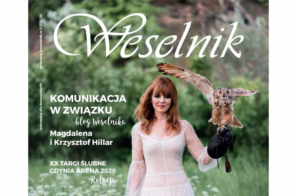 Sesja okładkowa dla magazynu Weselnik