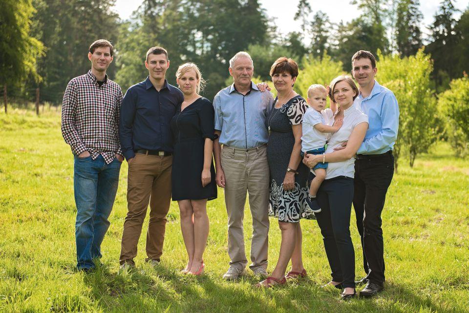 Zdjęcia rodzinne portretowe