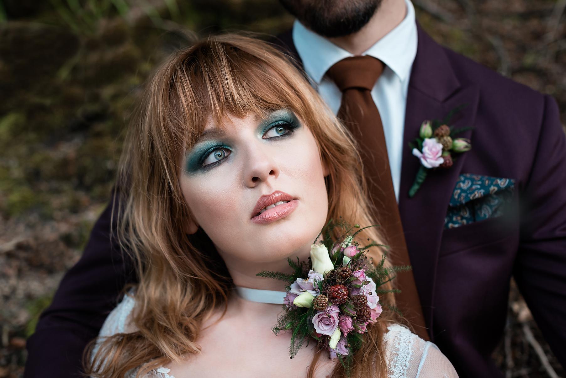 sesja ślubna w lesie, mrugała studio
