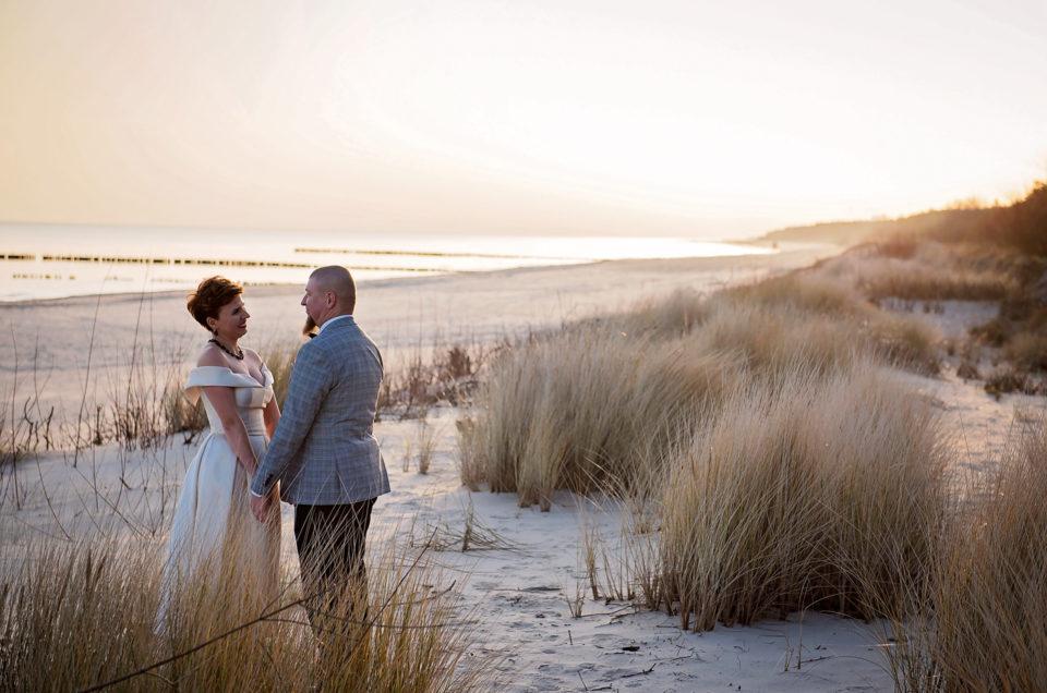 sesja na Helu, zdjęcia ślubne jastarnia, sesja ślubna Chałupy